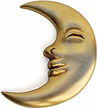Art.Intaglio Italienische Holzskulptur Mond