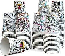 Art Kups - 50 Count 8 oz - Kompostierbare