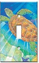 Art Plates Wandplatte, Übergröße, Schildkröte