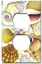 Art Plates Wandplatte, Übergröße, Shell