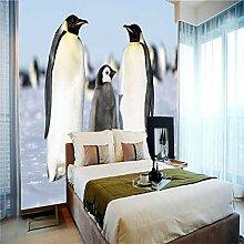 Art Print Fototapeten Pinguin Wandbilder