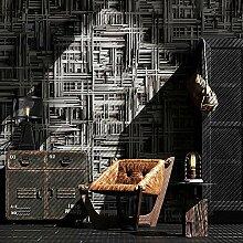 Art Tapete mit geometrischem Muster Wallpaper