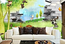 Art_wall_mural 3D Tapete Wallpaper