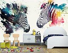 Art_wall_mural 3D Tapete Wallpaper Von Hand Bemalt