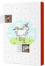 artboxONE Adventskalender mit Produkten von