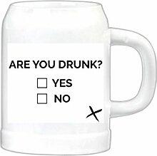 artboxONE Bierkrug are you drunk