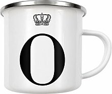 artboxONE Emaille Tasse O King von AB1 Edition -