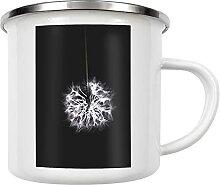 artboxONE Emaille Tasse Pusteblume von LinaTea -
