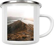 artboxONE Emaille Tasse Roys Peak von NPSFilm -