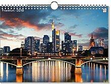 artboxONE Kalender 2019 Frankfurt Wandkalender A2