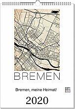 artboxONE Kalender 2020 Bremen, Meine Heimat!