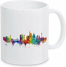 artboxONE Tasse Frankfurt Germany Skyline von