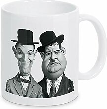 artboxONE Tasse Laurel and Hardy von Rob Snow -