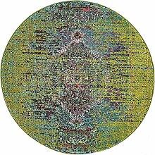 Arte Bereich Teppich, grün, 4 x 4 round