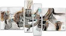 Arte Dal Mondo Abstrakt Acryl Gemälde auf