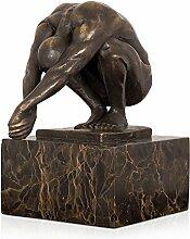 Arte Dal Mondo EP719M Qual Bronze Skulptur Statue