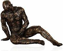 Arte Dal Mondo SA431 Strategio Bronze Skulptur