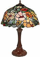 Arte Dal Mondo TWGF16715 Blumen-Tischlampe glas im