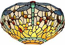 Arte Dal Mondo Wandlampe dragonfly im glas