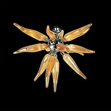 Arte Di Murano Deckenleuchte amber,Handgefertigt