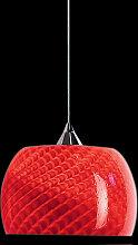 Arte Di Murano Pendelleuchte Rot,Handgefertigt in