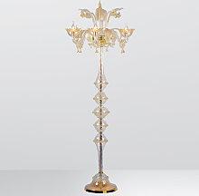 Arte Di Murano Stehlampe transparent,Handgefertigt