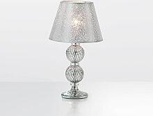 Arte Di Murano Tischlampe platin,Handgefertigt in
