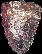 Arte Di Murano Wandleuchte rosa,Handgefertigt in
