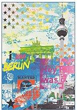 Arte Espina Teppich Flash 2712 Multi Berlin 40cm x