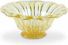 Arte Murano Mitteldecke, Glas, Goldfarben