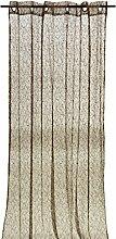 Arte Regal 19211Vorhang, 140x 260cm, Schokoladenbraun