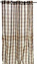Arte Regal 28168–Vorhang, 140x 260cm, braun/beige