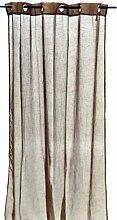 Arte Regal 75296Vorhang, 140x 260cm, Schokoladenbraun