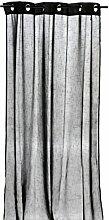 Arte Regal 75300–Vorhang, 140x 260cm, Schwarz