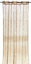 Arte Regal Abendstimmung Vorhang, 140x 260cm, beige