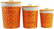 Arte Regal Import 11730–pongotodo Rund, Set 3, Orange