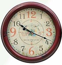 Arte Regal Import 26702–Uhr rund mittelgroß, mehrfarbig