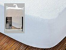 Arte Regal Import Vera Matratzenschoner, Frottee, 135cm, weiß