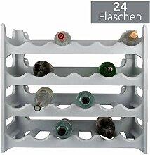 ARTECSIS Weinregal stapelbar Kunststoff für 24