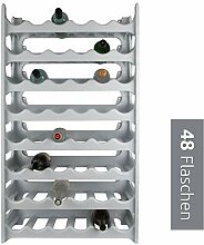 ARTECSIS Weinregal stapelbar Kunststoff für 48