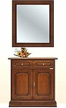 Arteferretto Anrichte mit Spiegel aus Holz