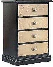Arteferretto Kleinmöbel 4 Schubladen aus Holz