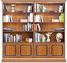 Arteferretto Regalwand Bücherschrank-Möbel für