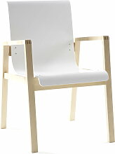 Artek - 403 Hallway Sessel, Sitz weiß
