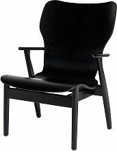 Artek - Domus Lounge Sessel, schwarz