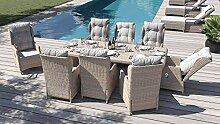 ARTELIA Bariya XL Polyrattan Sitzgruppe Lounge