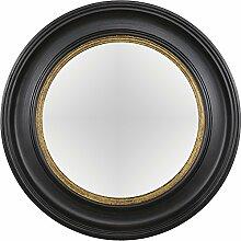 artelore Home 0105092Breda II–Spiegel oval konvex Finish, Schwarz