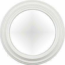 artelore Home 0105115Breda I–Spiegel oval konvex Finish, Weiß