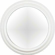 artelore Home 0105116Breda II–Spiegel oval konvex Finish, Weiß