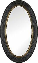 artelore Home 0105118Breda II–Spiegel oval konvex Finish, Schwarz